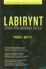 okładka Labirynt Sztuka podejmowania decyzji, Książka | Motyl Paweł