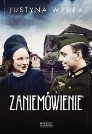 okładka Zaniemówienie, Książka | Justyna Wydra