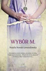 okładka Wybór M, Książka | Natalia Nowak-Lewandowska