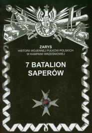 okładka 7 Batalion Saperów, Książka | Dymek Przemysław
