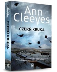 okładka Czerń kruka, Książka   Ann Cleeves