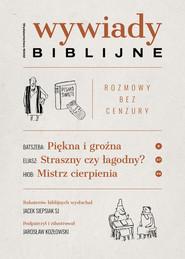 okładka Wywiady biblijne Rozmowy bez cenzury, Książka   Siepsiak Jacek