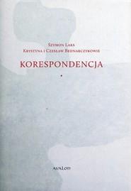 okładka Szymon Laks Krystyna i Czesław Bednarczykowie Korespondencja, Książka |