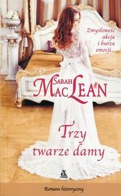 okładka Trzy twarze damy, Książka | Sarah MacLean