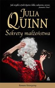okładka Sekrety małżeństwa, Książka   Julia Quinn