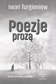 okładka Poezje prozą, Książka | Iwan Turgieniew