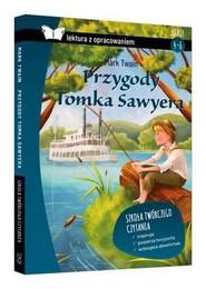 okładka Przygody Tomka Sawyera lektura z opracowaniem / SBM, Książka | Mark Twain