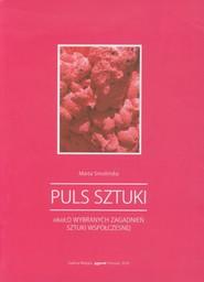 okładka Puls sztuki, Książka   Smolińska Marta