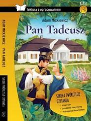 okładka Pan Tadeusz Lektura z opracowaniem, Książka | Adam Mickiewicz
