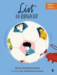okładka List do Ronaldo, Książka | Anna Onichimowska