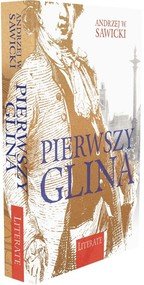okładka Pierwszy glina, Książka   Andrzej W. Sawicki