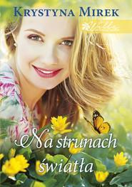 okładka Na strunach światła Wielkie Litery, Książka | Krystyna Mirek