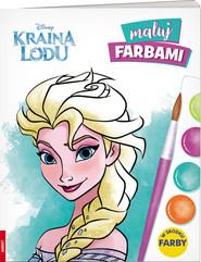 okładka Kraina Lodu Maluj farbami MF-91022, Książka | Opracowanie zbiorowe