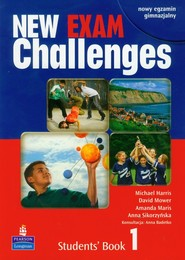okładka New Exam Challenges 1 Students' Book Gimnazjum, Książka | Michael Harris, David Mower, Amanda Maris