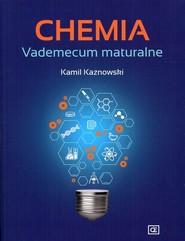 okładka Chemia Vademecum maturalne, Książka | Kaznowski Kamil