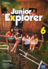 okładka Junior Explorer 6 Podręcznik Szkoła podstawowa, Książka   Jennifer Heath, Michele Crawford, Marta Mrozik