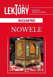 okładka Nowele, Książka | Bolesław Prus