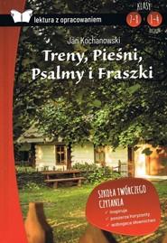 okładka Fraszki Pieśni PsalmyTreny Jan  Kochanowski opracowanie, Książka   Jan Kochanowski