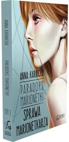 okładka Paradoks Marionetki Sprawa Marionetkarza, Książka   Anna Karnicka