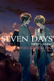 okładka Seven Days #2 Friday - Sunday, Książka   Tachibana Venio