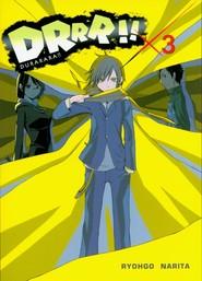 okładka Durarara!! 3, Książka | Ryohgo Narita, Suzuhito Yasuda