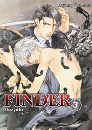 okładka Finder #03 Skrzydło, Książka   Yamane Ayano