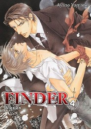 okładka Finder #04 Więzień, Książka   Yamane Ayano