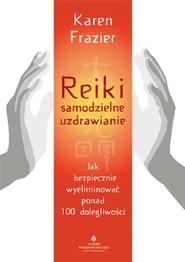 okładka Reiki samodzielne uzdrawianie, Książka | Frazier Karen