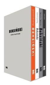 okładka Beksiński Sztuki plastyczne Etui, Książka | Zdzisław Beksiński, Banach Wiesław