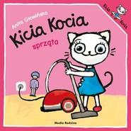 okładka Kicia Kocia sprząta, Książka | Anita Głowińska