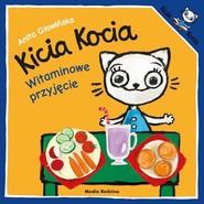 okładka Kicia Kocia Witaminowe przyjęcie, Książka | Anita Głowińska
