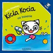 okładka Kicia Kocia na basenie, Książka | Anita Głowińska