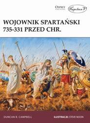 okładka Wojownik spartański 735-331 przed Chr., Książka   B. Campbell Duncan