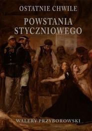 okładka Ostatnie chwile powstania styczniowego, Książka   Walery Przyborowski
