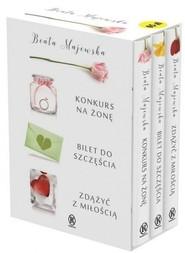 okładka Pakiet Majewska 1 seria kwiatowa, Książka | Beata Majewska