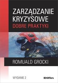 okładka Zarządzanie kryzysowe Dobre praktyki, Książka | Grocki Romuald