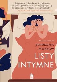 okładka Listy intymne Zwierzenia Polaków, Książka | Stasiak Bożena