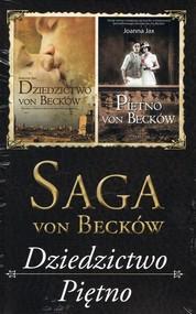 okładka Saga von Becków Dziedzictwo von Becków / Piętno von Becków Pakiet, Książka | Joanna Jax