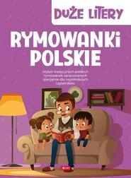 okładka Rymowanki polskie Duże litery, Książka | null null