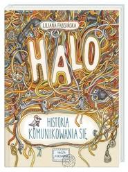 okładka Halo Historia komunikowania się, Książka | Liliana Fabisińska