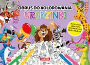 okładka Urodzinki - obrus do kolorowania, Książka | Aleksandra Adamska-Rzepka