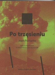okładka Po trzęsieniu, Książka | Portante Jean