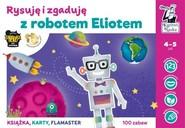 okładka Kapitan Nauka Rysuję i zgaduję z robotem Eliotem, Książka | Bożena Dybowska, Anna Grabek