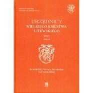 okładka Urzędnicy Wielkiego Księstwa Litewskiego Spisy Tom IX Województwo mścisławskie XVI-XVIII wiek, Książka |