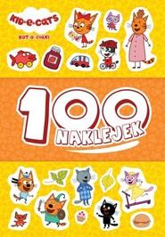 okładka Kot-o-ciaki 100 naklejek, Książka | null null
