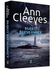 okładka Błękit błyskawicy, Książka   Ann Cleeves