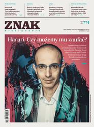 okładka ZNAK 774 11/2019: Harari. Czy możemy mu zaufać? , Książka |