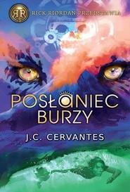 okładka Posłaniec burzy, Książka | C. Cervantes J.