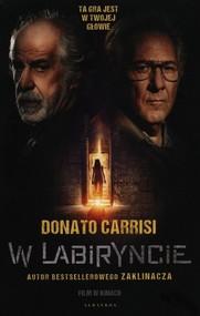 okładka W labiryncie, Książka   Donato Carrisi