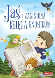 okładka Jaś i zaginiona księga gnomików, Książka | Jarosław Grzegorz Cieśla